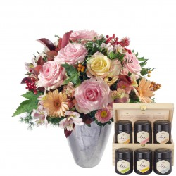 Romantic Winter Dream with honey gift set