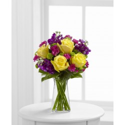 The Happy Times Bouquet - VASE INCLUDED