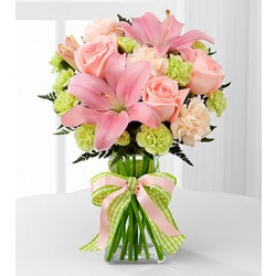 D7-4906 The Girl Power™ Bouquet - VASE INCLUDED