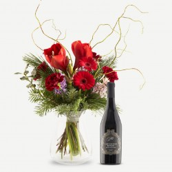 Elegant Christmas Bouquet with Ripasso