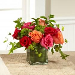 Bukiet róż - Bujne życie