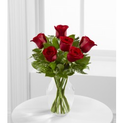E4-4822 The Simply Enchanting™ Rose Bouquet - VASE INCLUDED