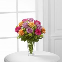 Bukiet róż - Czysty urok