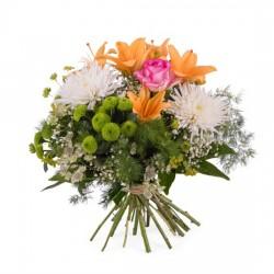 Bukiet wiosenny z liliami mały