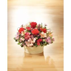 Aranżacja kwiatowa florysty