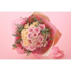 Elegancki bukiet z różami