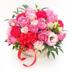"""Mother's Day"" Gratitude Pink & Red arrangement"
