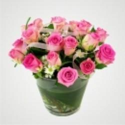 Różowe iskierki