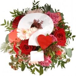 Sezonowy bukiet na Walentynki