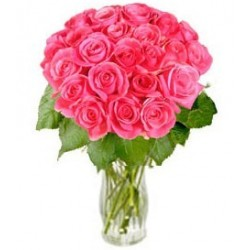 "Bunch of Pink Roses ""Rosy Reveries"" (without vase)"