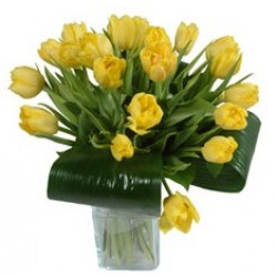 """Bouquet of tulips """"Warmest wishes"""" (without vase)"""