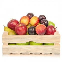 Box of seasonal fruits