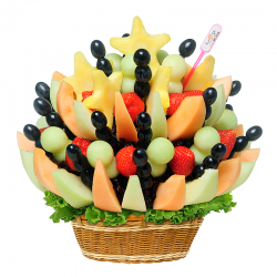 Fruit bouquet -  A star from heaven