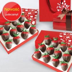 Strawberries in Rej chocolate