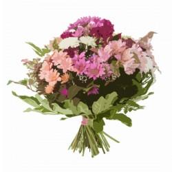 Bukiet mieszanych kwiatów ciętych