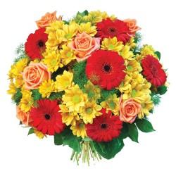Stojąca kompozycja kwiatowa