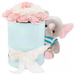 Zestaw Delimaro™ z niebieskim słoniem