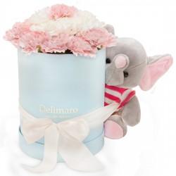 Zestaw Delimaro™ z różowym słoniem