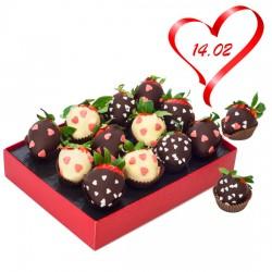 Strawberries for Valentine's Day