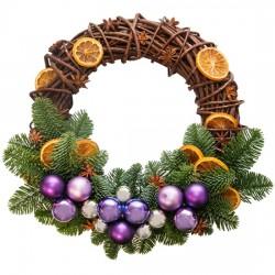 "Christmas Wreath ""O Holy Night"""