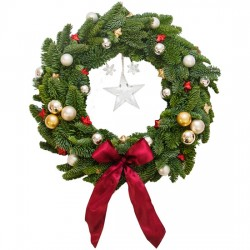 "Christmas Wreath ""Jingle Bells"""