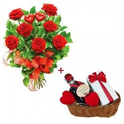 Zestaw na Walentynki - Dwa serca