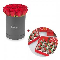 Zestaw na Walentynki - Słodka delikatność