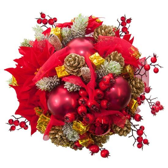 Stroik-Flowerbox czerwony