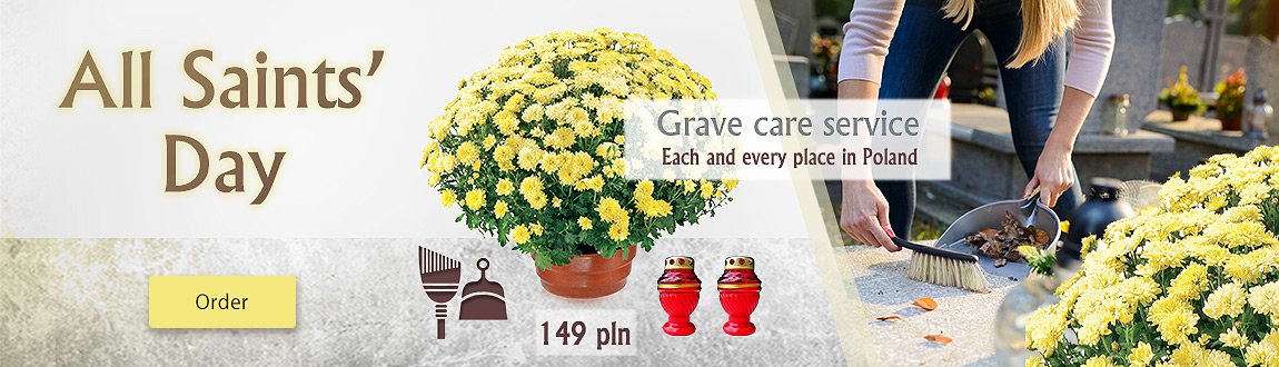 All Saints' Day - Grave care service