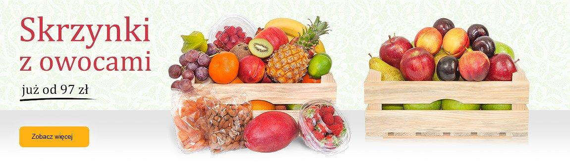 Skrzynki owocowe
