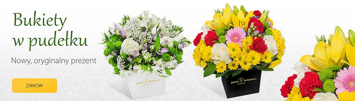 Kwiaty w pudełku