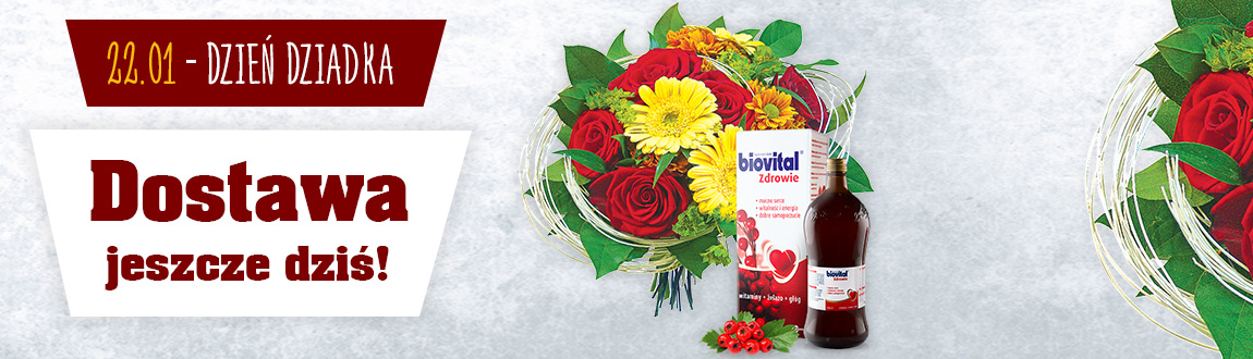Kwiaty i coś jeszcze! Dzień Babci i Dziadka