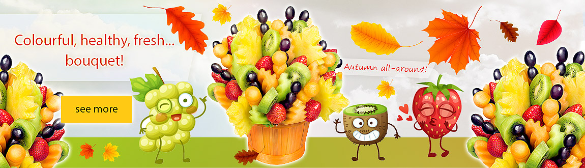 Fruit bouquet - Lipton