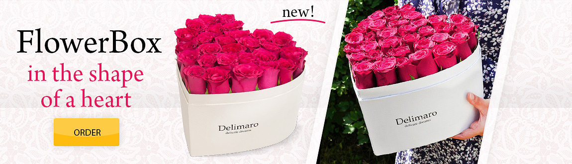 NEW! Delimaro in the shape of a heart!