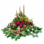 Bombka w jabłku, czyli dekoracje bożonarodzeniowe