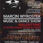 Walentynkowy koncert Marcina Wyrostka w Spodku