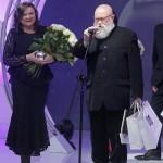 scena z: Lucyna Kirwil, Jerzy Bralczyk, fot. Podlewski/AKPA