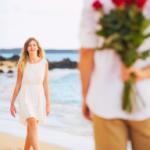 Kwiaty jako oznaka romantyzmu