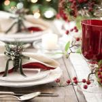 Kolorystyka świątecznego stołu