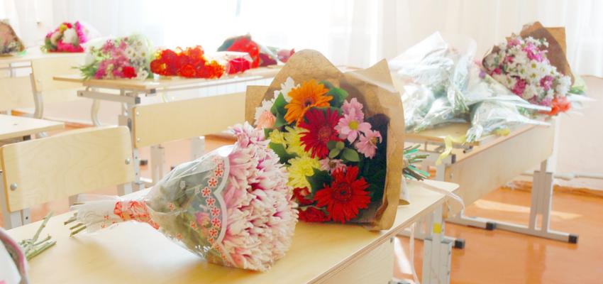 kwiaty dla nauczycieli