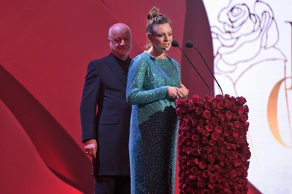 scena z: Jerzy Schejbal, Magdalena Boczarska, SK:, , fot. Jacek Kurnikowski/AKPA