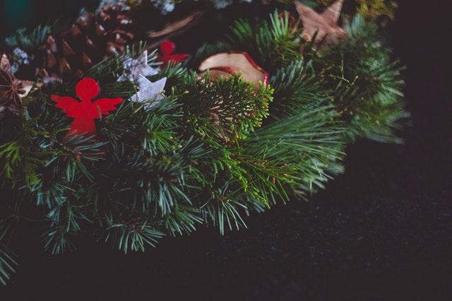 bożonarodzeniowy wieniec
