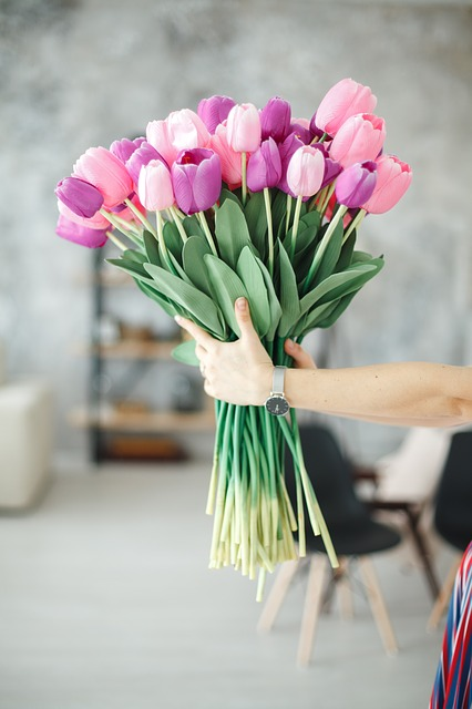 tulipany na Dzień Mamy