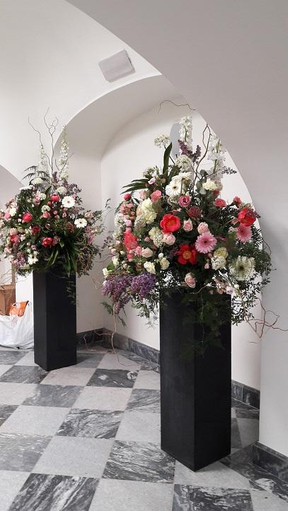 Prace florystyczne na Mistrzostwach