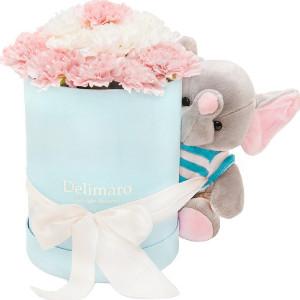 Flowerbox ze słonikiem