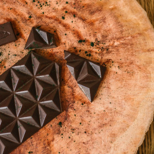 połamana czekolada