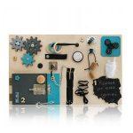 Tablica manipulacyjna - rozwijający kreatywność prezent dla maluchów