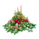 Efektowne stroiki na świąteczny stół