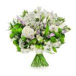 Eleganckie kompozycje z białymi kwiatami