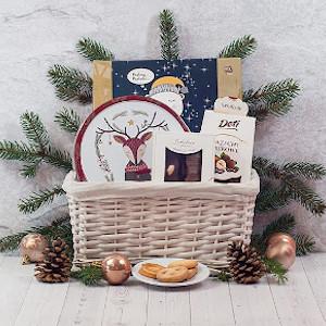 kosz prezentowy przysmaki Rudolfa
